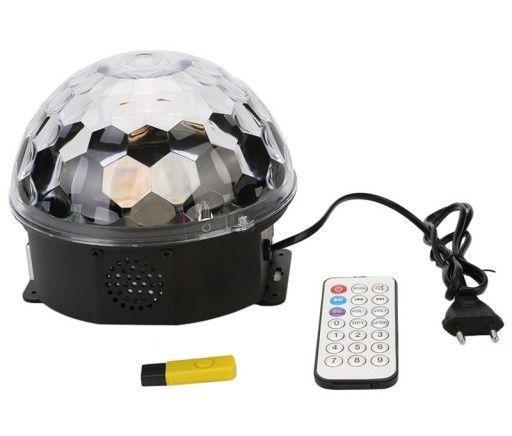 MP3 LED magic ball Light светодиодный волшебный шар