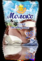 Молоко сухе 25% жирності 100 г.