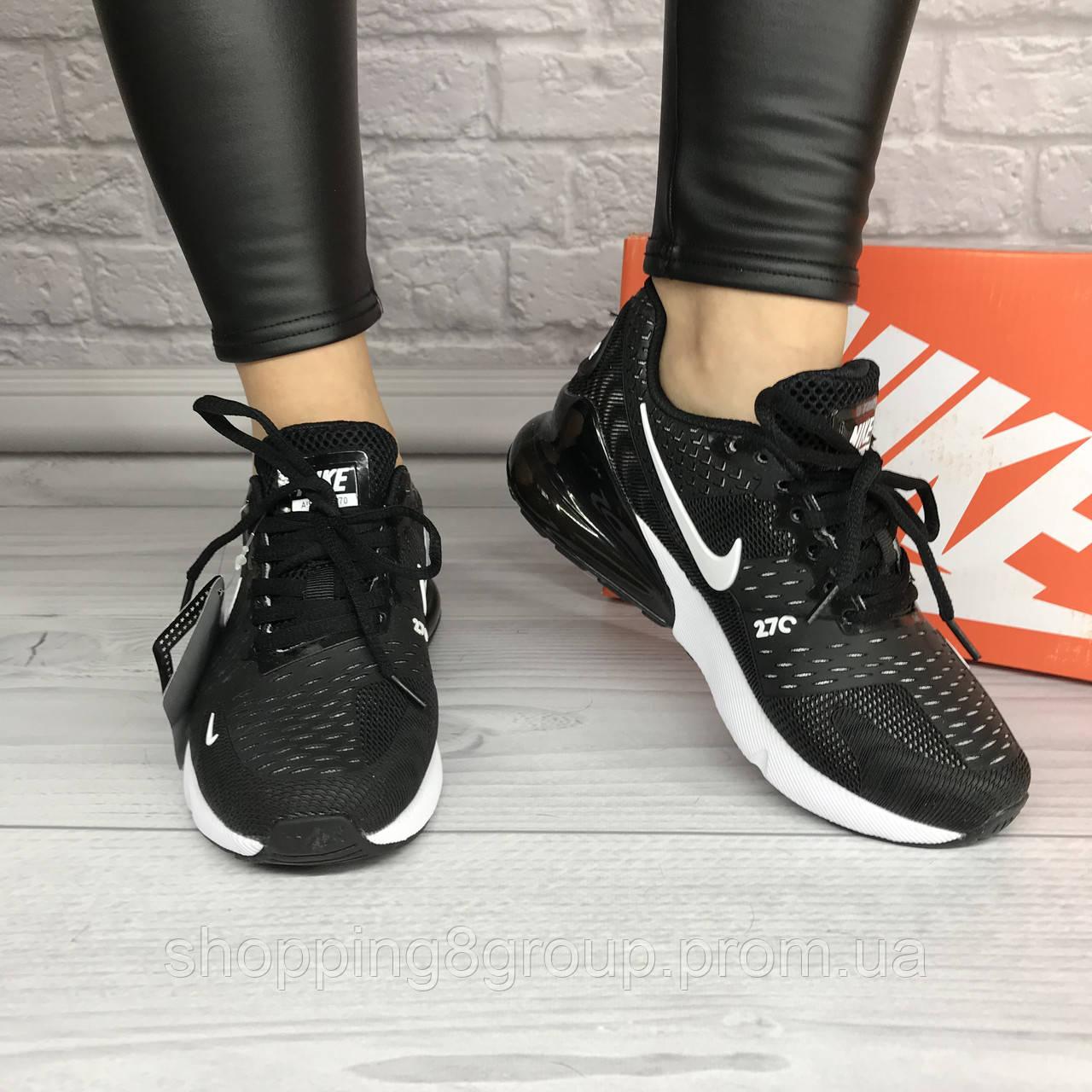 b171cf4c Кроссовки женские Nike Air Max 270 (черный) 38,39,40,41, цена 1 285 ...