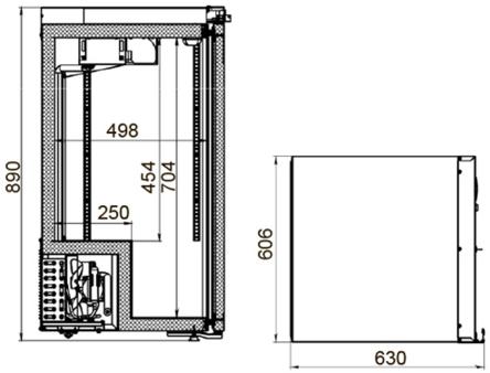 Холодильник для аптеки ШХФ-0,2 ДС, фото 2