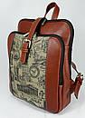 Оригинальный городской рюкзак  FC-0421-P0L4 бренда FRANCO CESARE, фото 2