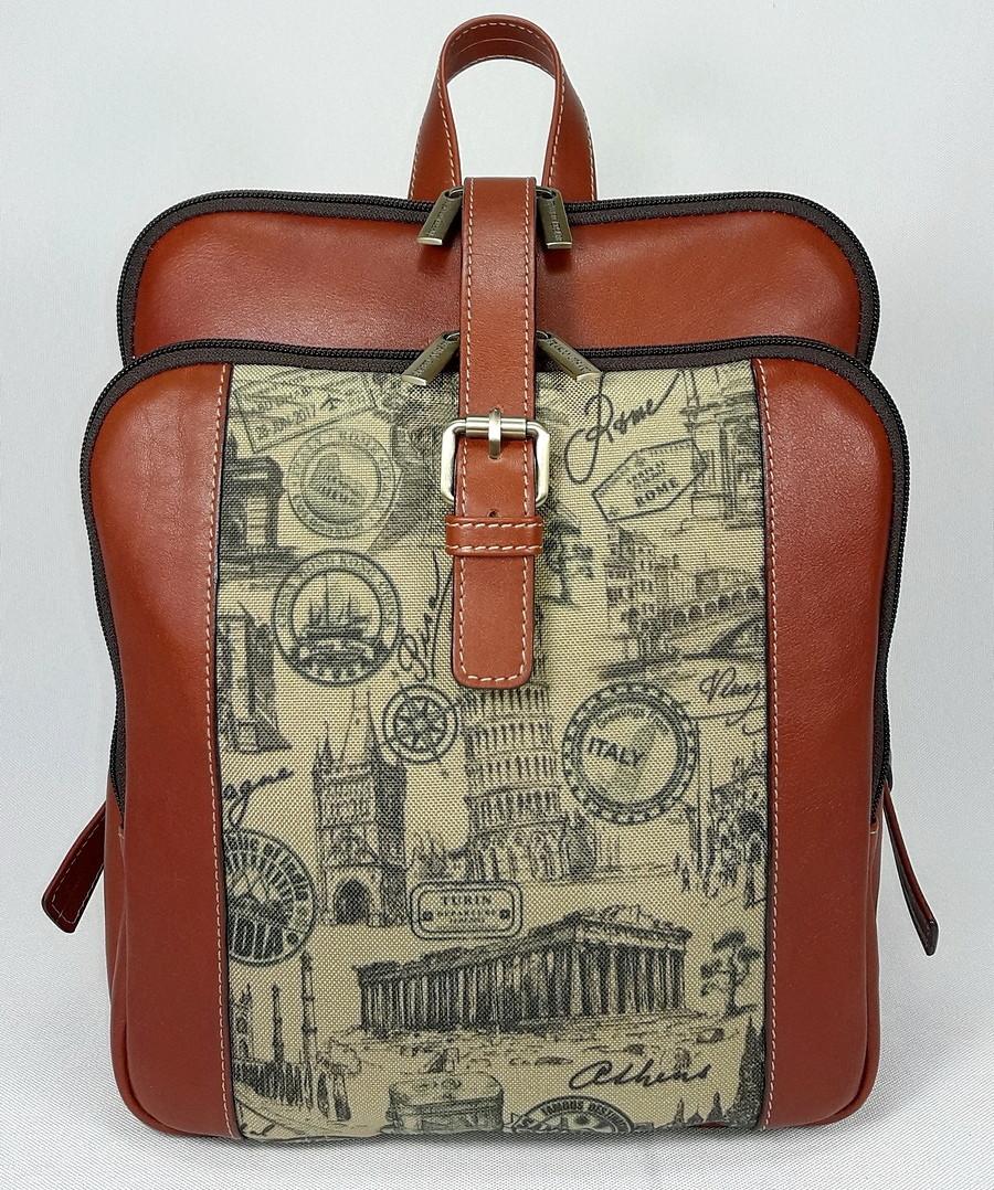 Оригинальный городской рюкзак  FC-0421-P0L4 бренда FRANCO CESARE
