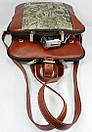 Оригинальный городской рюкзак  FC-0421-P0L4 бренда FRANCO CESARE, фото 5