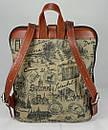 Оригинальный городской рюкзак  FC-0421-P0L4 бренда FRANCO CESARE, фото 4