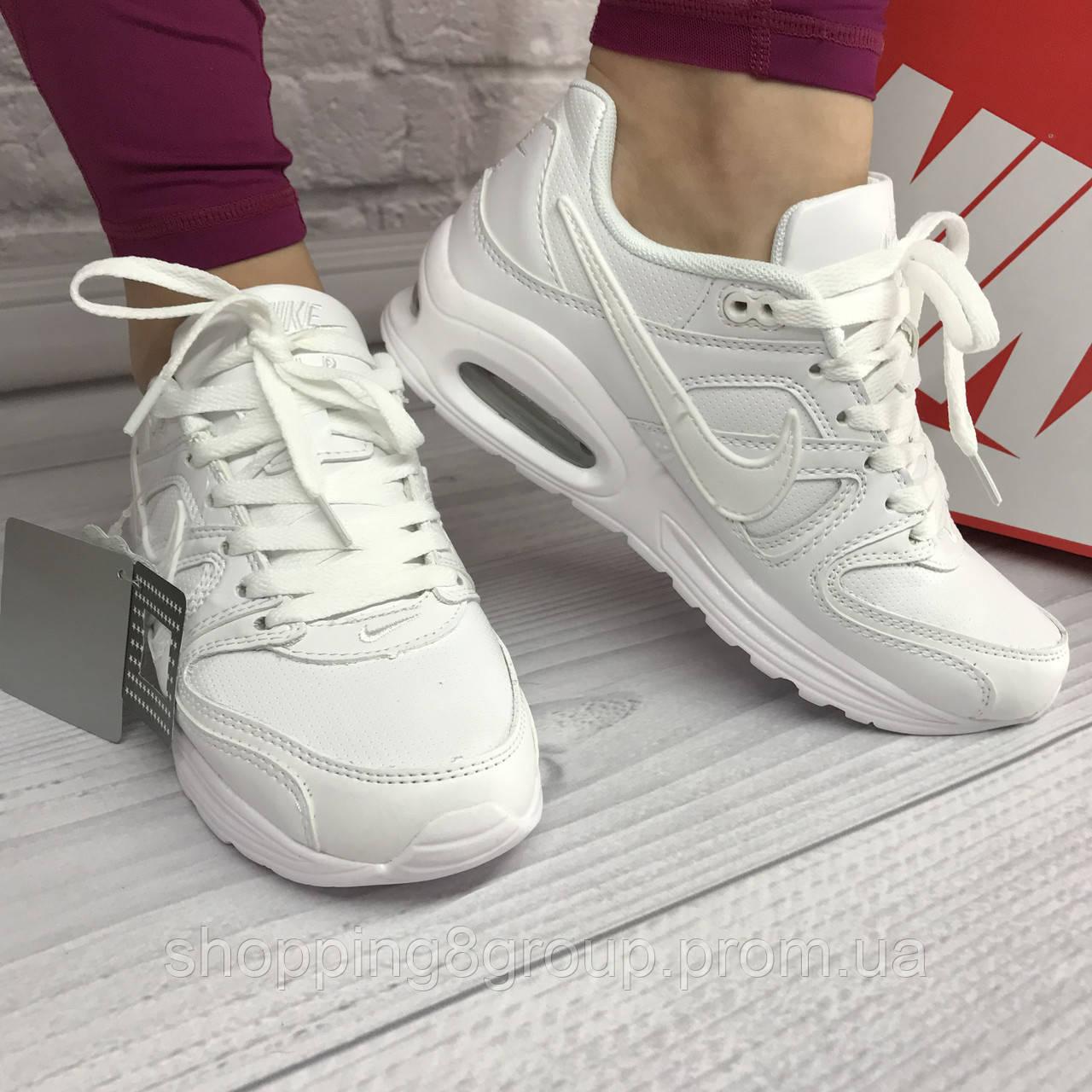 b98a87b9 Кроссовки женские Nike Air Max (белые) 39, 40 - Shopping group в Днепре