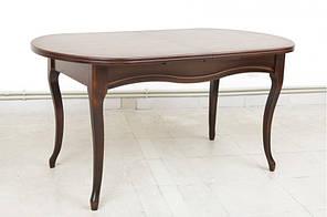 """Розкладний стіл """"Олівер"""" (темний горіх) 150см"""