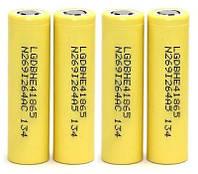 Аккумуляторная батарея  LG Li-ion 2500мАч с высоким током отдачи 30A 3.7V ICR18650 для элекотродвигателей