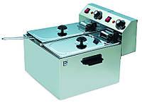 Фритюрница электрическая 4+4 литра CZG-40-2 Gastrorag (Китай)
