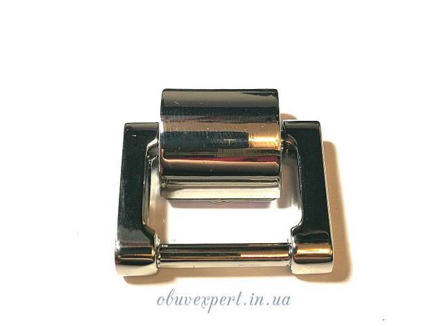 Ручкодержатель  20 мм Никель, фото 2