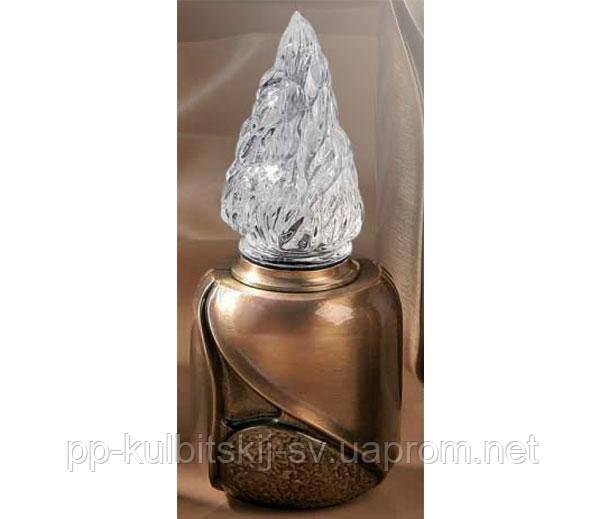 Лампадка бронзова L8934