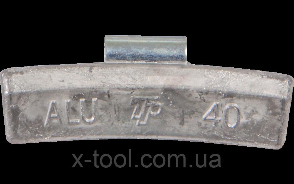 Груз балансировочный набивной для легкосплавных дисков ALU 40 г. упаковка 100 шт. TipTopol TPALU-040 (Польша) , фото 1