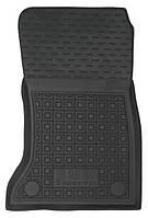Коврики в салон Bmw 5 (F10, F11) 2009 - черные, полиуретановые (Avto-Gumm, 11597-11346) - передний пассажирский