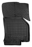 Коврики в салон Vw Passat B8 2014 - черные, полиуретановые (Avto-Gumm, 11484-11346) - передний пассажирский