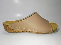 Женские кожаные шлепанцы ТМ Inblu, фото 1
