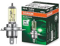 """Автомобильная галогенная лампа """"OSRAM"""" (H4)(Allseason Super)(+30%)(12V)(60/55W), фото 1"""