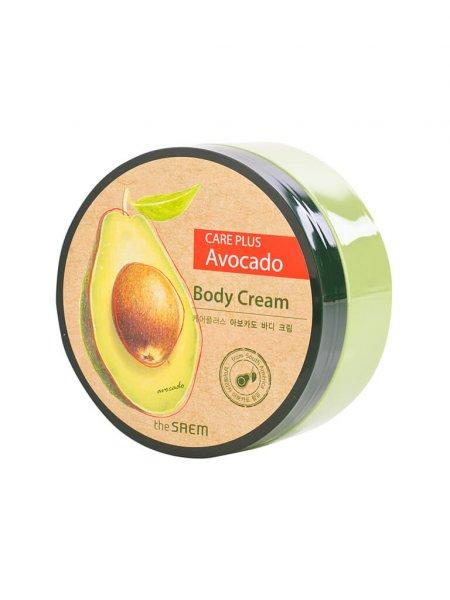 Крем для тела с экстрактом авокадо The Saem Care Plus Avocado Body Cream 300 мл