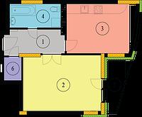 ВЕНТИЛЯЦИЯ  однокомнатной  квартиры под ключ
