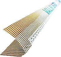 Профиль ПВХ угловой с сеткой 10 х 10 см Valmiera, фото 1