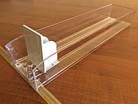 Пластиковий лоток для сигарет с толкателем 385 мм.