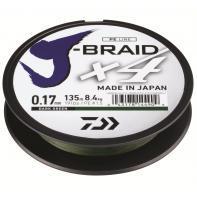 Шнур Daiwa J-Braid X4E 0,13mm-270m Dark Green