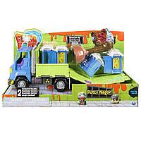Машина транспортер с биотуалетами, Flush Force – Series 2 Potty Wagon