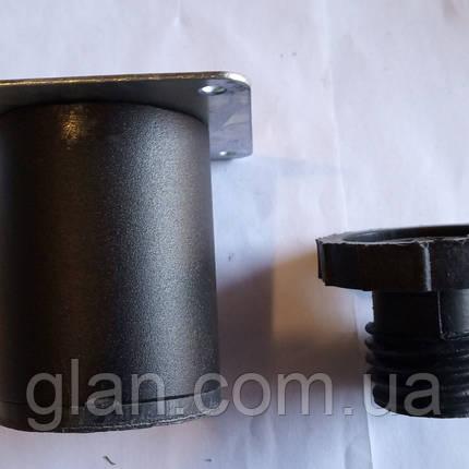 Ножка 50/80 КМ черная, фото 2