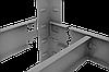 Стеллаж полочный Стандарт, крашенный, на зацепах (2000х1000х600), 5 полок, ДСП, 220 кг/полка, фото 4