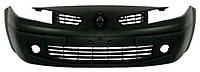 Бампер передний Renault Megane II (рестайл) 2006 - 2009, отв. п/тум. (к-т) (Tempest)