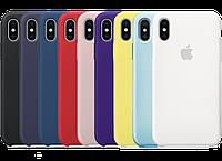 Чехол накладка Silicone case IPhone X / XS
