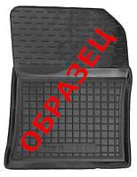 Коврики в салон Lancia Ypsilon (312_) 2011 - черные, полиуретановые (Avto-Gumm, 11376-11346) - передний пассажирский