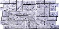 """Панели ПВХ Камень  """"Пиленый настоящий серый"""""""