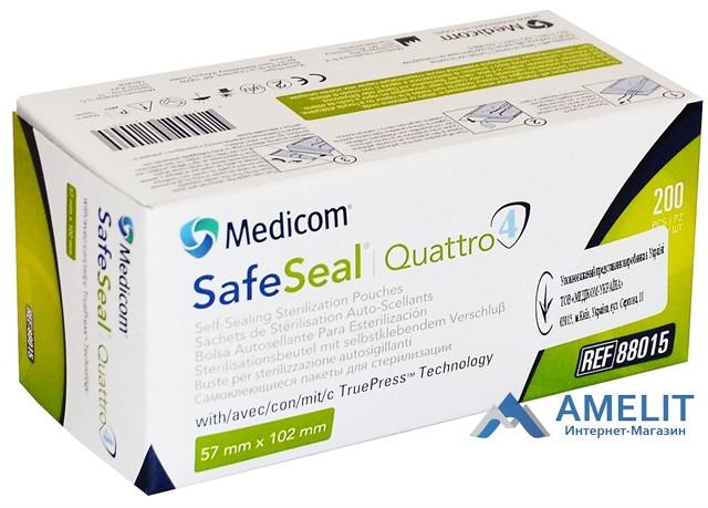 Пакеты для стерилизации (Medicom), 57*102мм, 1шт.