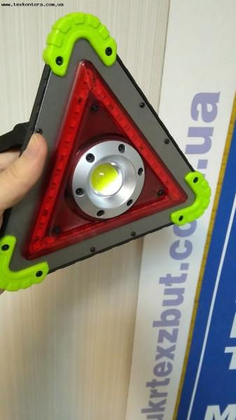 Лампа аварийной остановки + лампа COB HB6610 аккумулятор