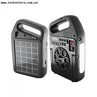 Фонарь радио + MP3+Bluetooth RX-498BT с солнечной зарядкой, фото 1