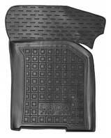Коврики в салон Lada 21083, 21093, 21099 1986 - 2004, черные, полиуретановые (Avto-Gumm, 11693-11346) - передний пассажирский