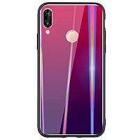 TPU+Glass чехол Gradient Aurora для Xiaomi Mi Play
