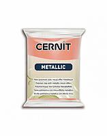 Новинка! Полимерная глина Цернит Cernit серия Металлик Metallic, Розовое Золото Pink Gold, 56г, фото 1