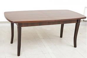 """Розкладний стіл """"Квартет"""" (темний горіх) 180см"""