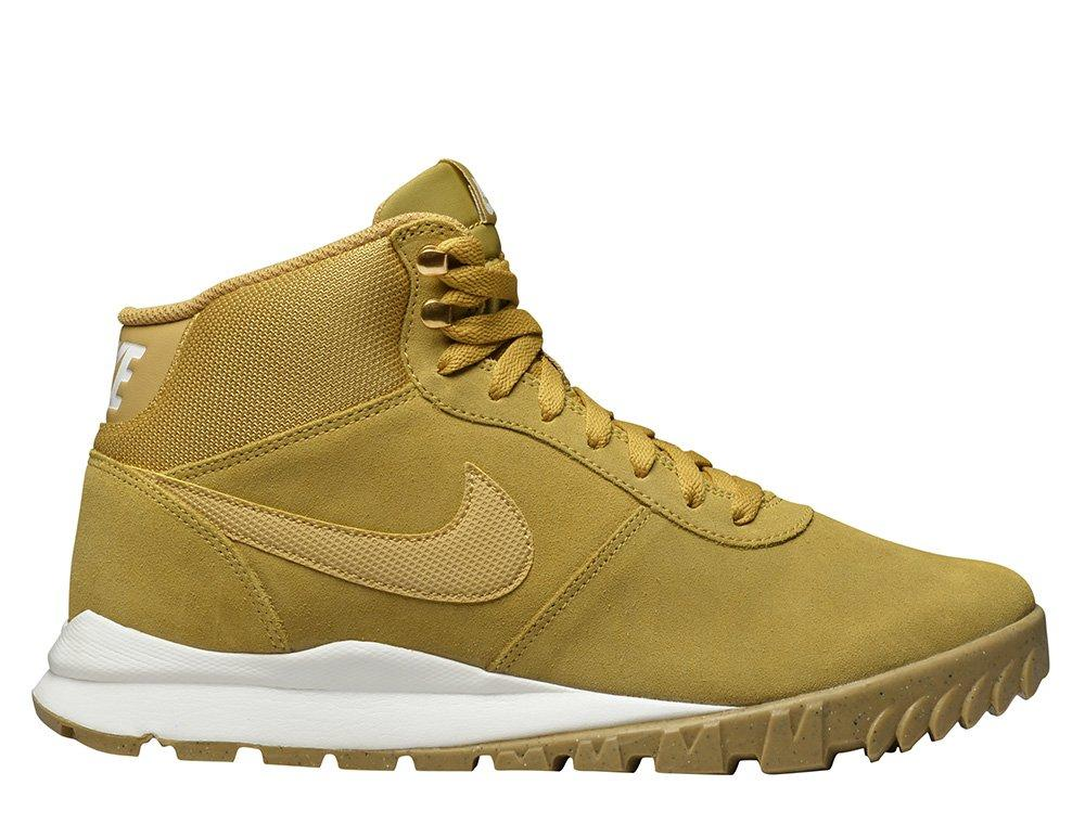 """Оригинальные Кроссовки Nike Hoodland Suede """"Light Brown-Metallic Gold""""  654888-727"""