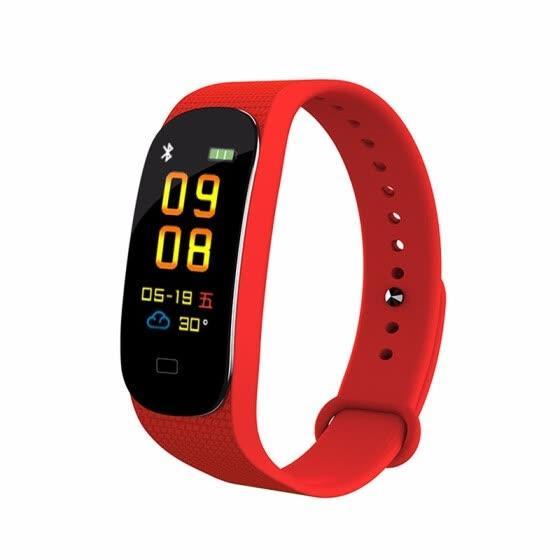 Умные часы Фитнес браслет Mi Band M5, трекер, bluetooth, пульс, калории, смс, фото 1