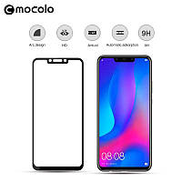 Защитное цветное стекло Mocolo (full glue) на весь экран для Huawei Mate 20