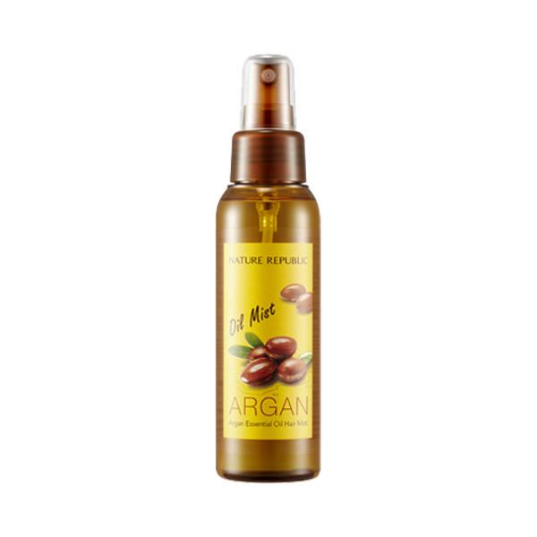 Восстанавливающий масло-мист для волос с маслом арганы Nature Republic Argan Essential Oil Hair Mist 105 мл