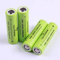 Аккумуляторная батарея VAPPOWER Li-ion 2500мАч с высоким током отдачи 35А  3.7В IMR18650 для электродвигателей