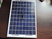 Солнечная батарея - панель 10 W.