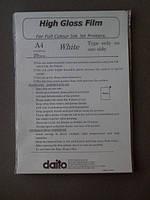 Пленка для струйной печати белая супер-глянец А4 20 л/упак IGT-20 Daito (02724)