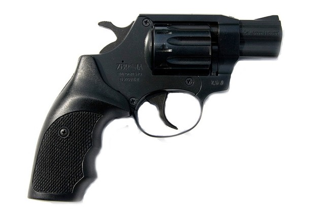 Револьвер под патрон флобера SNIPE 2 (пластик)