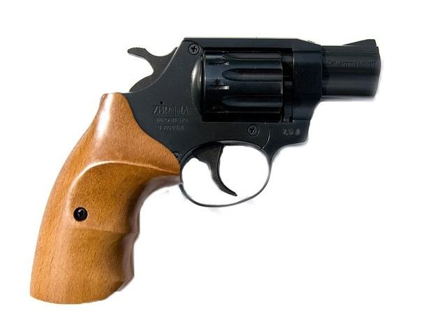 Револьвер под патрон флобера SNIPE 2 (бук)
