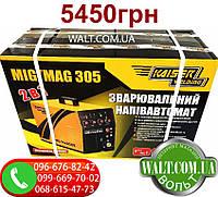 Зварювальний напівавтомат KAISER MIG-305 2в1 інверторний