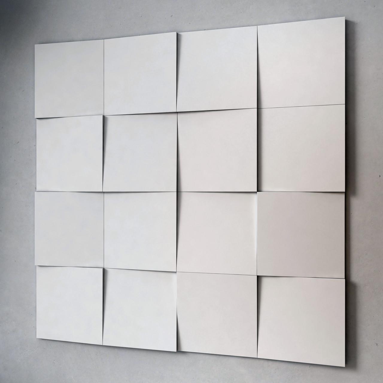 Square Eco Collection 3D панели гипсовые