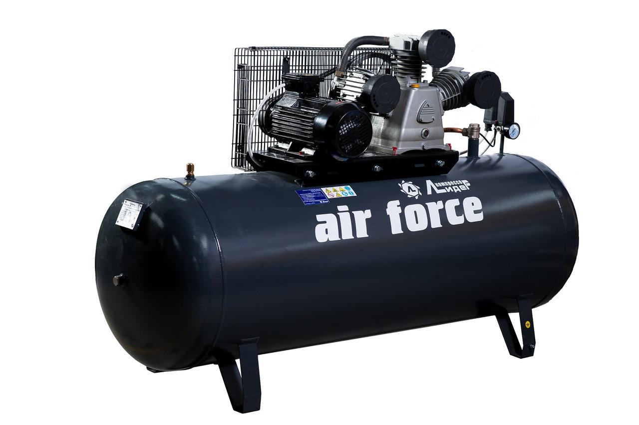 "Компрессор AIR FORCE ВКП LB 750-10-100 (950л/м. ) ТМ ""Лидер"""